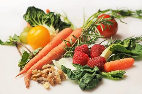 Mat, grönsaker och bär