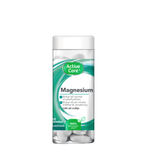 Active Care Magnesium 300 mg, 120 tabletter