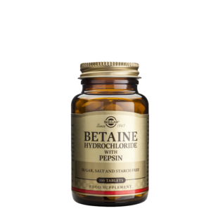 Betain Hydrochloride, 100 tabletter