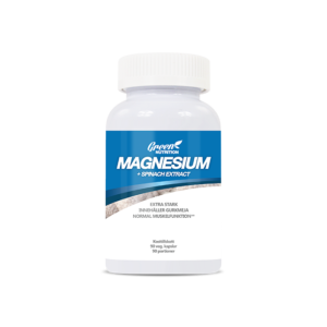 Magnesium+ Spinach Extract, 90 kapslar