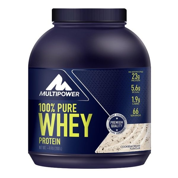 100% Whey Cookies & Cream 2000g