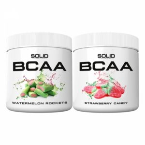2 x SOLID Nutrition BCAA, 300 g