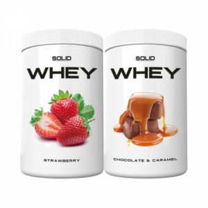 2 x SOLID Nutrition Whey, 750 g