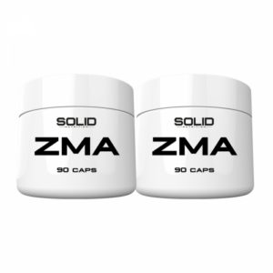 2 x SOLID Nutrition ZMA, 90 caps