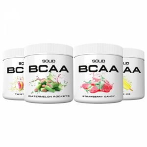 4 x SOLID Nutrition BCAA, 300 g