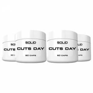 4 x SOLID Nutrition Cuts Day, 60 caps