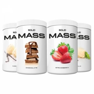 4 x SOLID Nutrition Mass, 1 kg