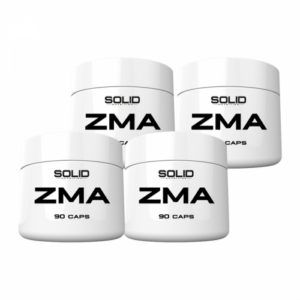 4 x SOLID Nutrition ZMA, 90 caps