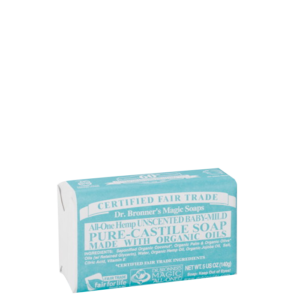 Baby Unscented Bar Soap, 140 g