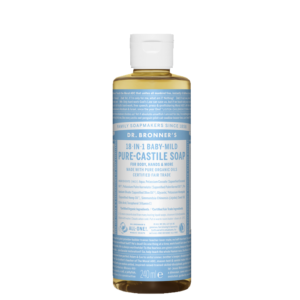 Baby Unscented Liquid Soap, 240 ml