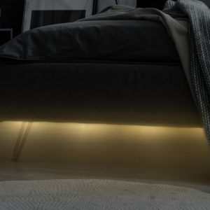 Bed light with sensor