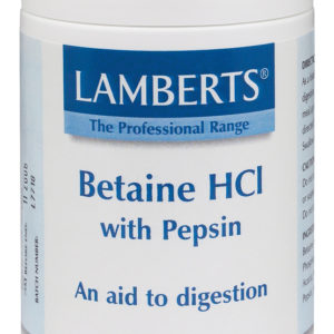 Betainhydroklorid Hcl 324mg / PEPSIN 5 mg (180 tabletter)