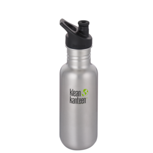 Classic w/Sport cap Brushed stainless, 532 ml
