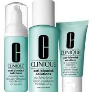 Clinique Blemish Solutions 3-step skin care system