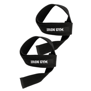 Iron Gym Lifting Straps with Comfort Pad