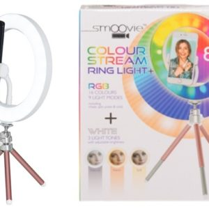 LED Selfie Ring light with tripod and phone holder 20 cm