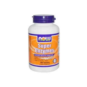 NOW Super Enzymes, 180 tabs