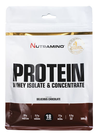Nutramino Whey Protein 500g - Delicious Chocolate