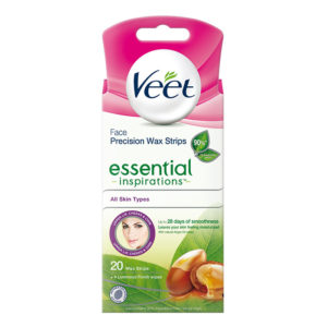 Veet Essential Inspirations Face Strips 20st