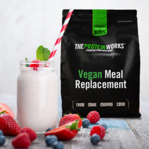 Vegan Meal Replacement, Strawberries N Cream, 2kg