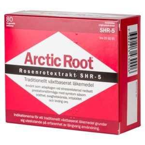Arctic Root 500mg 80 tabletter