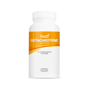 Betacarotene 50 mg+Coconut fat, 90 kapslar