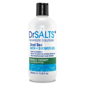 Dr SALTS Bath & Shower Gel Muscle Therapy 350 ml