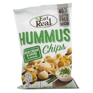 Eat Real Hummus Chips 135 g Sour Cream & Chive