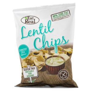 Eat Real Lentil Chips 113 g Creamy Dill