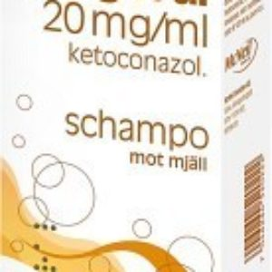 Fungoral schampo 20 mg/ml, 120 ml