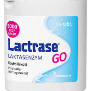 Lactrase GO 25 tabletter