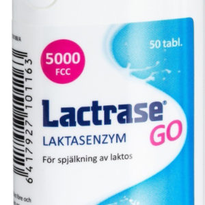 Lactrase GO 50 tabletter