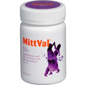 MittVal 55+ 100 tabletter
