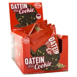 Oatein Cookie 12-pack Double Choclate Chip