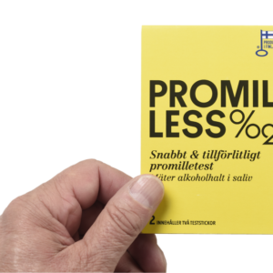 Promilless alkoholtest, 2 test strips