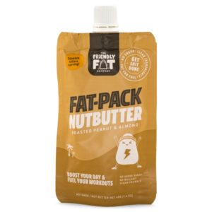 The Friendly Fat Company Fat-Pack Nutbutter Peanut & Almond 1 st