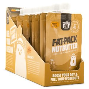 The Friendly Fat Company Fat-Pack Nutbutter Peanut & Almond 12-pack