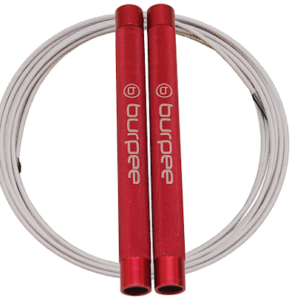 Burpee Speed Elite Red - Coated Clear wire