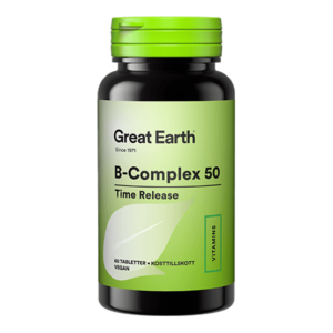 Great Earth B-Complex 50 mg 60 tabletter