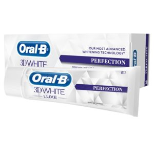 Oral-B 3D White Luxe Perfection Advanced Whitening Tandkräm 75 ml