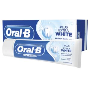 Oral-B Complete Extra White Tandkräm 75 ml