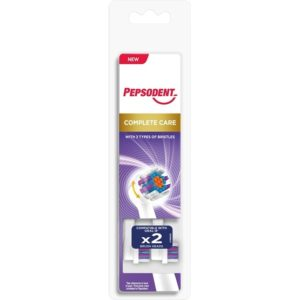 Pepsodent Eltandborsthuvud Complete Care 2-pack