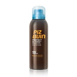Piz Buin Protect & Cool Mousse SPF 15 150 ml