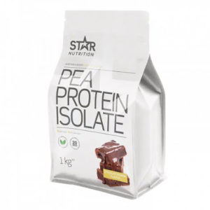 Star Nutrition Pea Protein Isolate 1kg - Chocolate Brownie