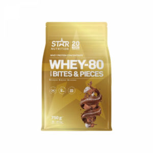 Star Nutrition Whey-80 with bites and pieces, 750 g