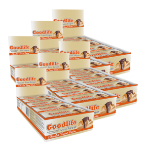 90 x Goodlife Low Sugar, 50 g BIG BUY, Proteinbars