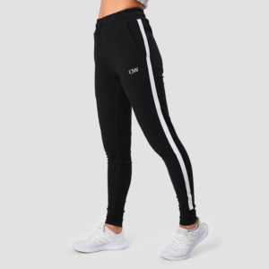 Activity Stripe Pants, Black
