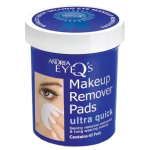 Andrea Eye Q's Remover Pads Ultra Quick 65 st