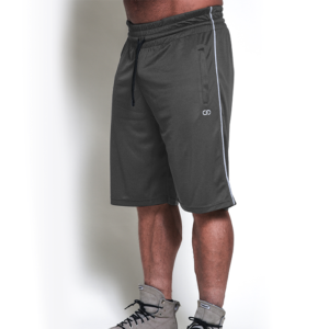 Chained Mesh Shorts, Antracite