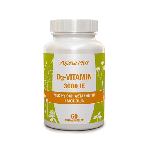 D3 vitamin 3000 IE + K2 60 kap